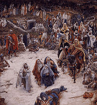 The crucifixion seen from the cross by james tissot 19th century