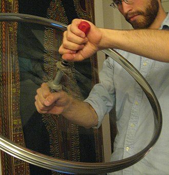 Twirling - Astrowheeling is a form of twirling used as personal exercise for improving dexterity, focus and balance.