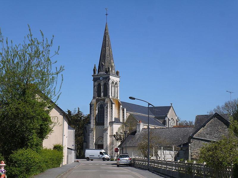 L'église d'Athée.