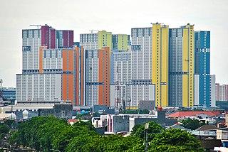 Kemayoran Athletes Village Hospital in Indonesia