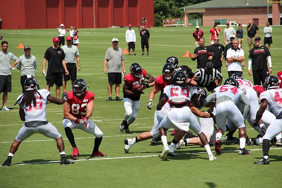 Atlanta Falcons training camp scrimmage, July 2016 4
