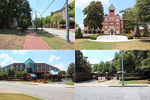 Atlanta University Center - Image: Atlanta University Center montage