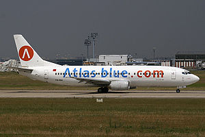Atlas Blue Boeing 737-400