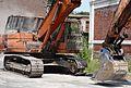 Auberchicourt - Démolition des Grands bureaux de la Compagnie des mines d'Aniche le 24 juillet 2013 (07).JPG