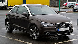 Audi A1 1.4 TFSI Ambition – Frontansicht, 26. Februar 2012, Velbert