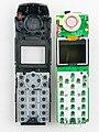 Auerswald COMfortel DECT 660C - handset - opened-93065.jpg