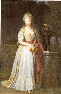 Duchess Augusta of Brunswick-Wolfenbüttel Duchess Frederick of Württemberg