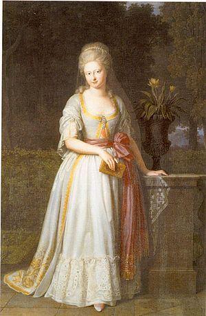Duchess Augusta of Brunswick-Wolfenbüttel - Image: Auguste von Braunschweig Wolfenbüttel