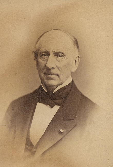 Photograph of Augustin Cauchy, ca. 1856, downloaded from The Smithonians libraries (c.) Wikipedia
