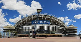 ANZ Stadium Exterior (with the old logo)