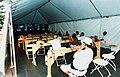 Australian media conference tent.jpg