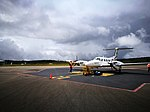 Avió Piper PA-42 Cheyenne III a l'aeroport de Chachapoyas02.jpg