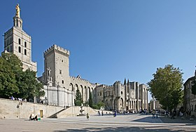 Image illustrative de l'article Palais des papes d'Avignon