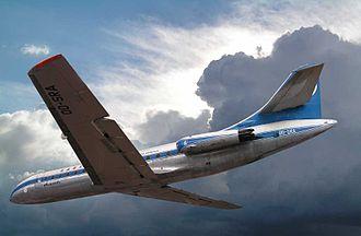 Defrenne v Sabena (No 2) - Image: Avion Caravelle