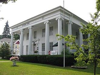 National Register of Historic Places listings in Livingston County, New York - Image: Avon Inn Aug 09