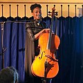 Ayanna Witter-Johnson, at the Toy Museum Folk Club, Brighton, Saturday 13th April 2019.jpg