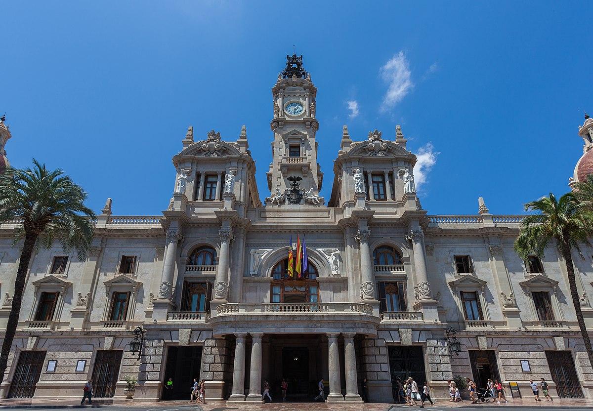 Casa consistorial de valencia wikipedia la enciclopedia for Casa de azulejos en valencia