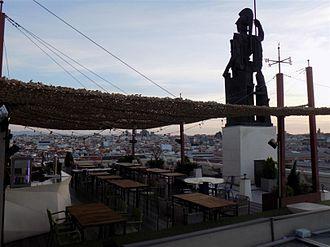 Círculo de Bellas Artes - Image: Azotea cba
