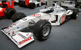 British American Racing - The BAR 002 brought the team its first points at the 2000 Australian Grand Prix.