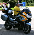 BMW Motorrad ADAC Stauberater Raststaette Irschenberg.JPG
