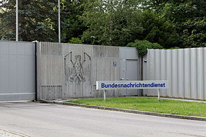 Federal Intelligence Service (Germany) - Entrance to the Headquarters in Pullach
