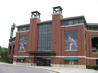 Peoples Natural Gas Field - Image: BP Ballpark OUTSIDE