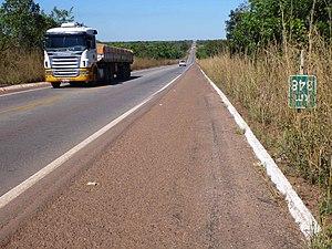 BR-153 - Image: BR 153 no Tocantins