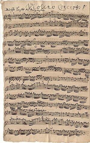 Wie schön leuchtet der Morgenstern, BWV 1 - Image: BWV 1