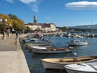 Krk (town) - Krk port