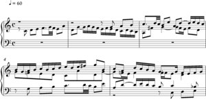 Stretto - Bach Fugue in C BWV 846 opening bars