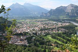 A view of Bad Ragaz