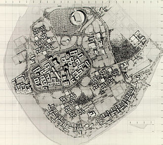 University of Baghdad - Site plan developed for the expanded University of Baghdad campus