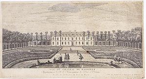 Philippine Élisabeth d'Orléans - Image: Bagnolet par Rigaud, Jacques.1730