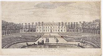 Château de Bagnolet, Paris - Image: Bagnolet par Rigaud, Jacques.1730