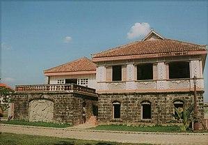 Bahay na bato - A fine exampe of Bahay na Bato Philippine architecture