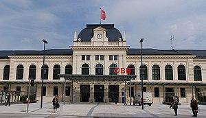 St. Pölten Hauptbahnhof - The reception hall, renovated in 2010