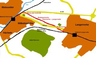 Mönchengladbach–Stolberg railway railway line