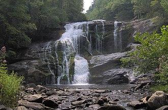 Unicoi Mountains - Bald River Falls