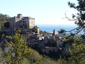 Balestrino - View of the old town