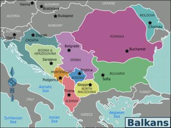 Αποτέλεσμα εικόνας για βαλκανια χωρες