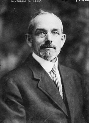 Balthasar H. Meyer - Balthasar H. Meyer