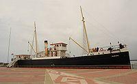 A Bandırma, Atatürk hajója, mely ma Samsun városában látható