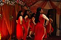 Bangladeshi girls dancing in wedding ceremony at Chittagong (02).jpg