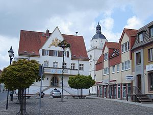 Barby, Germany - Town hall