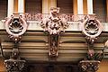 Baroque archtectural exterior pattern, Savona, Liguria region, Italy.jpg