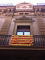 Barri de Gracia. Barcelona. Catalonian Flags. - panoramio.jpg