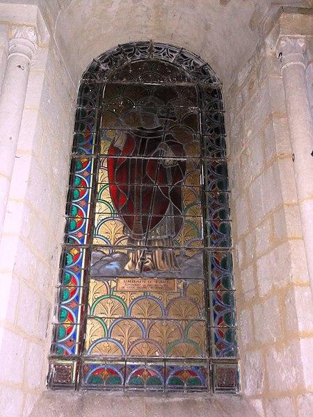 File:Basilique Saint-Eutrope de Saintes, vitrail 21.JPG
