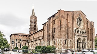 Basilica of Saint-Sernin, Toulouse church in Toulouse, France