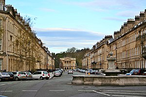 Great Pulteney Street - A view down Great Pulteney Street