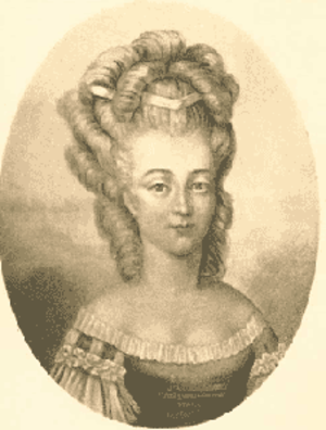 Bathilde d'Orléans - Bathilde by an unknown artist